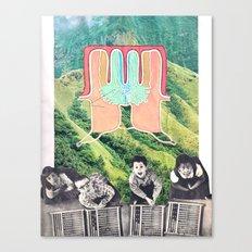 HEADS UBB Canvas Print