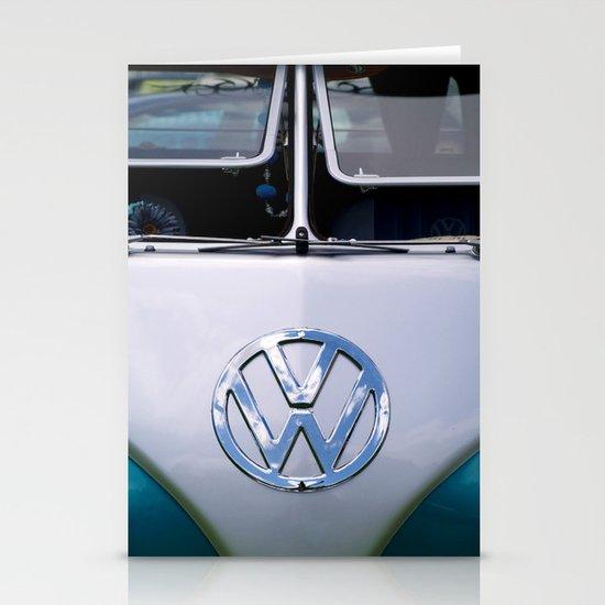 Volkswagen Split Screen Camper Stationery Card