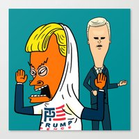 TP for America's Bunghole Canvas Print