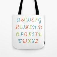 ABC...RGB... Tote Bag