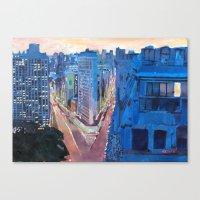 New York City - Flatiron… Canvas Print