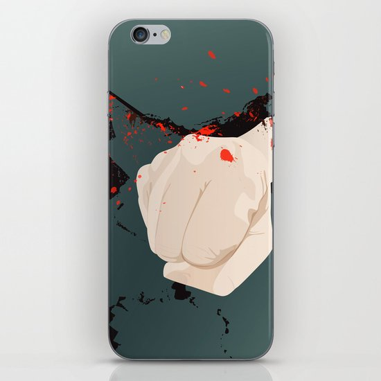 smashed iPhone & iPod Skin