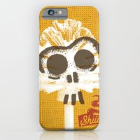 iPhone & iPod Case featuring Toilet Brush by YONIL