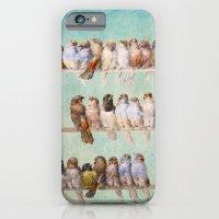 birds iPhone & iPod Cases featuring Birds Birds Birds by Diogo Verissimo