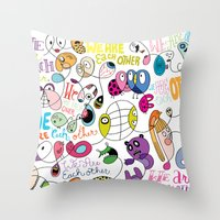 We Are Each Other (the P… Throw Pillow