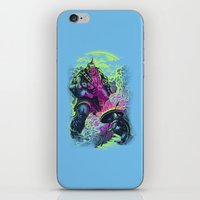 Magnysseus Vs The Cyclop… iPhone & iPod Skin