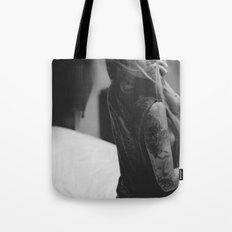 about a girl. Tote Bag