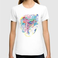 JULY Womens Fitted Tee White SMALL