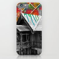 iPhone & iPod Case featuring Cabin in the Woods by Tyler Resty