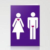 Men & Women Stationery Cards