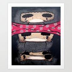 Pirate Totem. Art Print