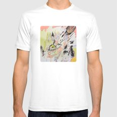 judge² White Mens Fitted Tee SMALL