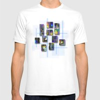 CDs Mens Fitted Tee White SMALL