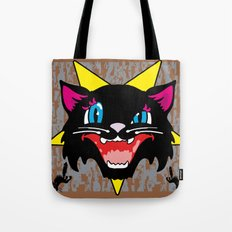 Pussy Galore Tote Bag
