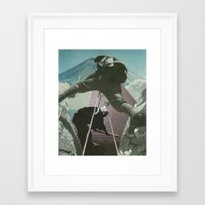 Mount Zen Framed Art Print