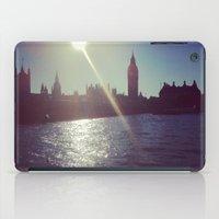 Big Ben Silhouette   iPad Case