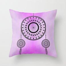 Bohemian Dream-catcher Throw Pillow