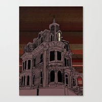 Haunted House #3 Canvas Print