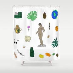 Various Stages  Shower Curtain