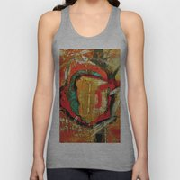 Abstract 1 Unisex Tank Top