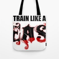 Train Like A Beast Tote Bag