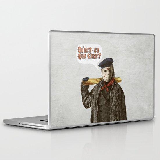 Psycho Killer Laptop & iPad Skin