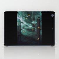 In The Woods Tonight iPad Case