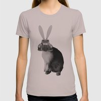 rabbit Womens Fitted Tee Cinder SMALL