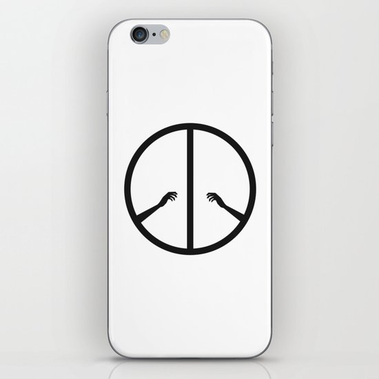 Peace struggle iPhone & iPod Skin