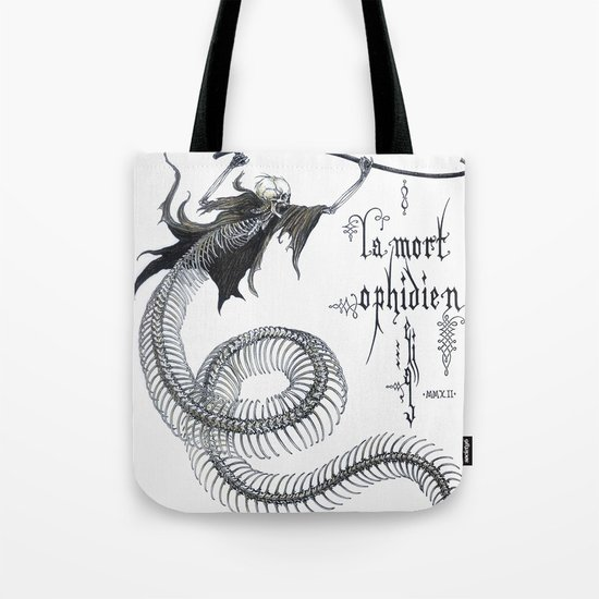 Ophidian Death Tote Bag