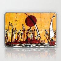 African River Fishing Laptop & iPad Skin