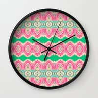 Embroidery - French Circ… Wall Clock