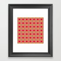 Jelly Arcade Pattern Framed Art Print