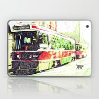 501 Street car Laptop & iPad Skin