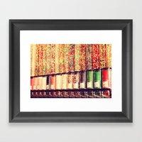 Candy Land Framed Art Print