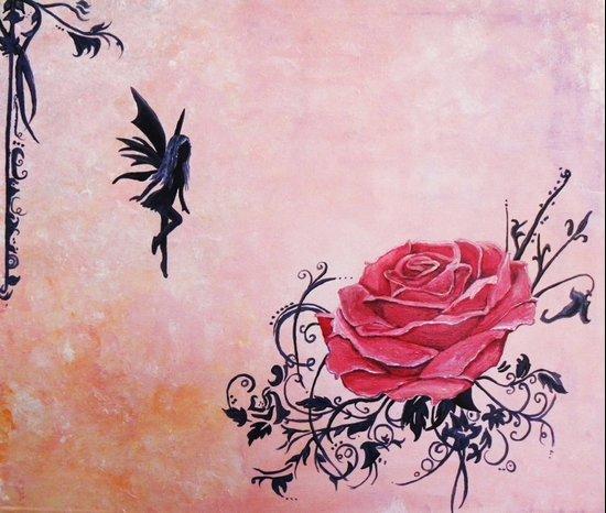 Tattoo Fairy Art Print