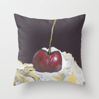 With a cherry on top? Throw Pillow