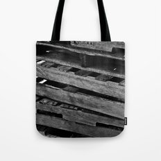 Abstract Wooden Pallets Tote Bag