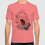 Delicate Distraction Mens Fitted Tee Pomegranate SMALL