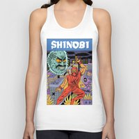Unisex Tank Top featuring Shinobi by Jack Teagle