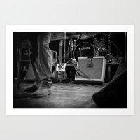 Eddie Vedder Guitar Art Print