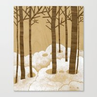 Forest is Alive! Canvas Print