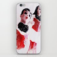 Nana's Carolers iPhone & iPod Skin