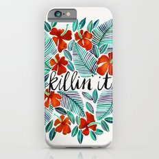 Killin' It – Tropical Red & Green iPhone 6 Slim Case