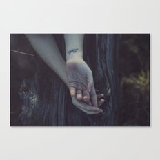 All you need is liebe Canvas Print