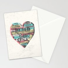 BUILD LOVE Stationery Cards