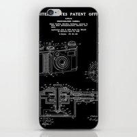 Camera Patent 1938 - Black iPhone & iPod Skin