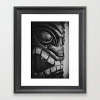 Freaky Tiki Framed Art Print