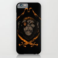 iPhone & iPod Case featuring Captain sea monkey by Steven Toang