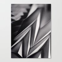 Paper Sculpture #8 Canvas Print